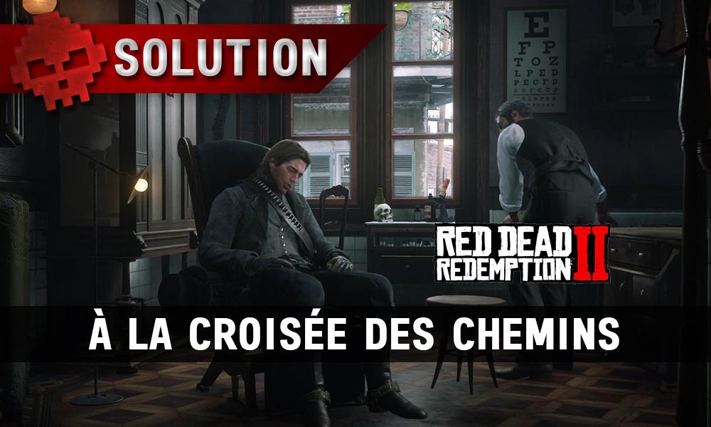 vignette soluce red dead redemption 2 à la croisée des chemins