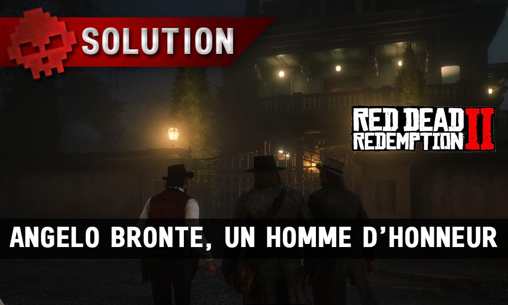 vignette soluce red dead redemption 2 angelo bronte un homme d'honneur