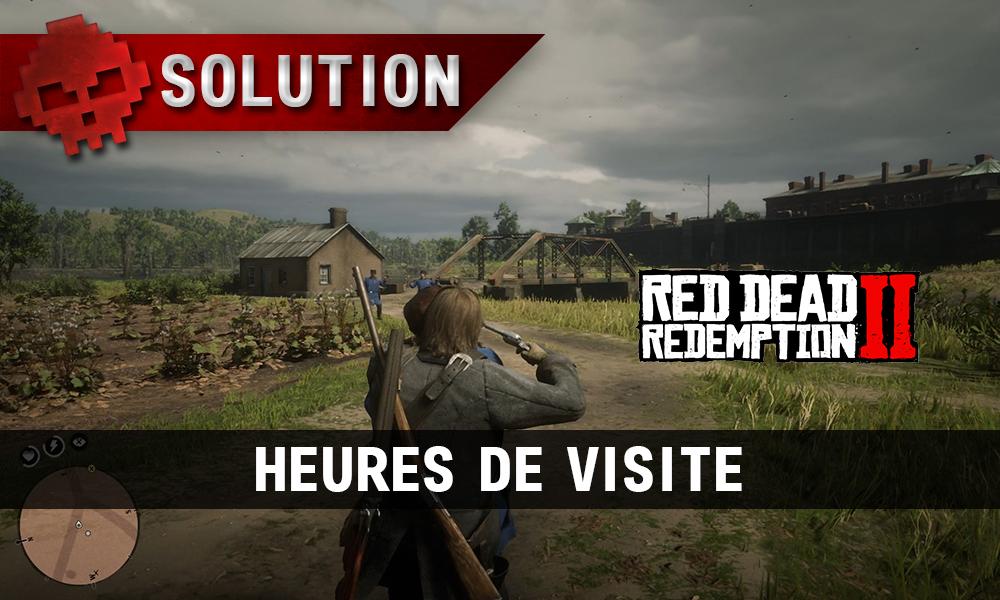 vignette soluce red dead redemption 2 heures de visite