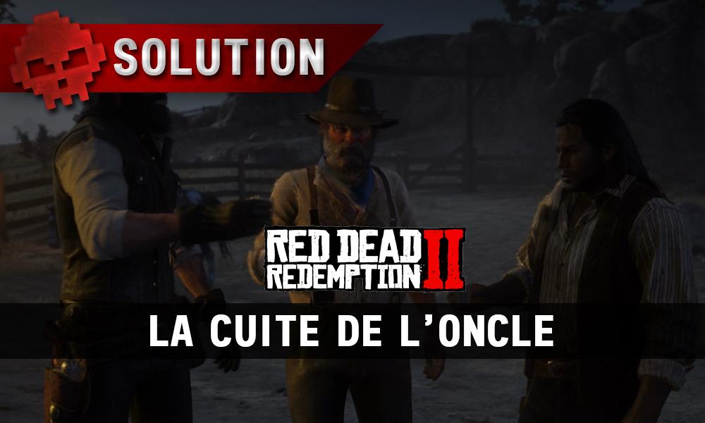 vignette soluce red dead redemption 2 la cuite de l'oncle