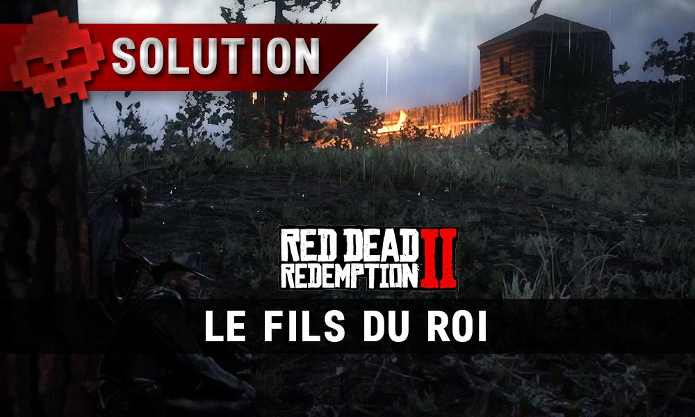 vignette soluce red dead redemption 2 le fils du roi