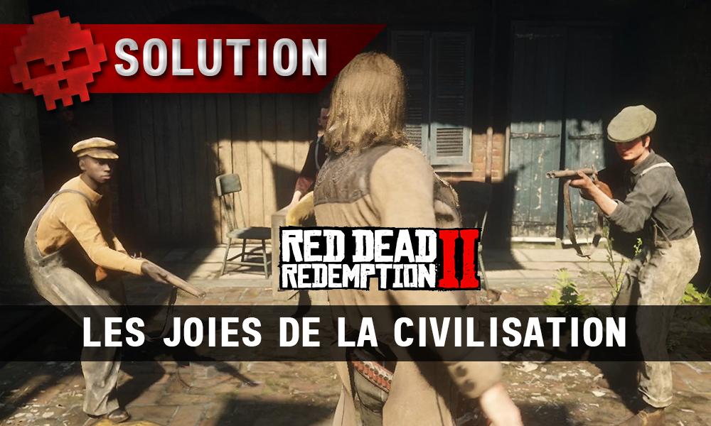 vignette soluce red dead redemption 2 les joies de la civilisation