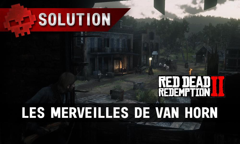 vignette soluce red dead redemption 2 les merveilles de van horn