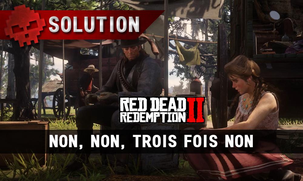 vignette soluce red dead redemption 2 non non trois fois non
