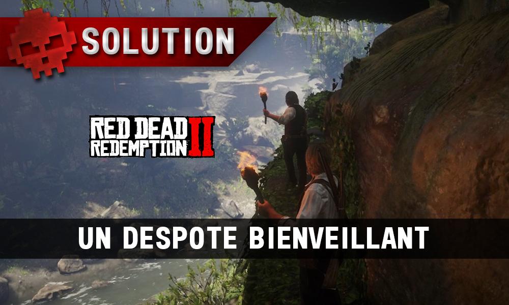 vignette soluce red dead redemption 2 un despote bienveillant