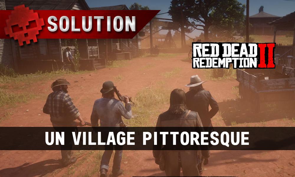 vignette soluce red dead redemption 2 un village pittoresque
