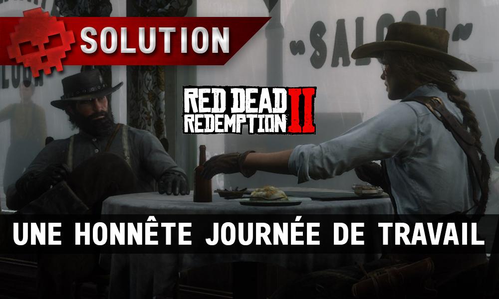 vignette soluce red dead redemption 2 une honnête journée de travail