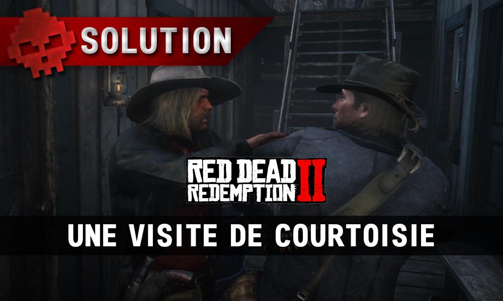 vignette soluce red dead redemption 2 une visite de courtoisie