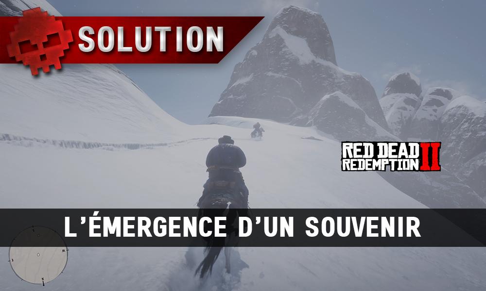 vignette solution red dead redemption 2 l'émergence d'un souvenir 2