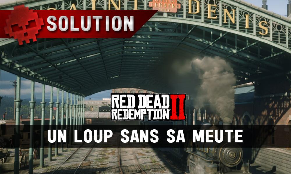 vignette solution red dead redemption 2 un loup sans sa meute