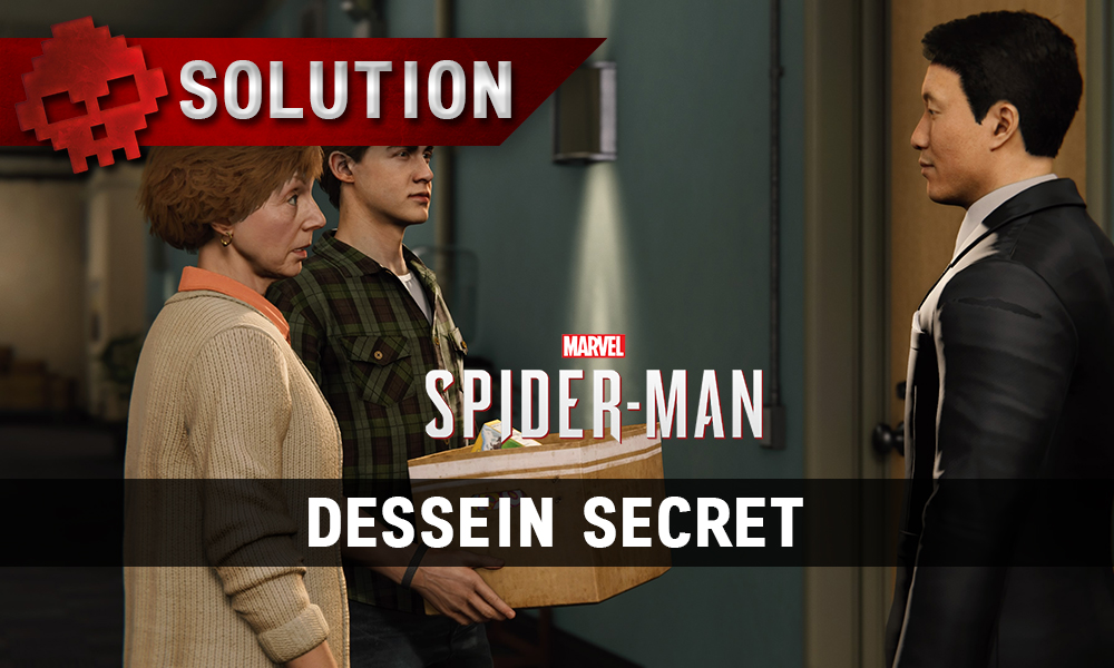 vignette solution spider-man dessein secret
