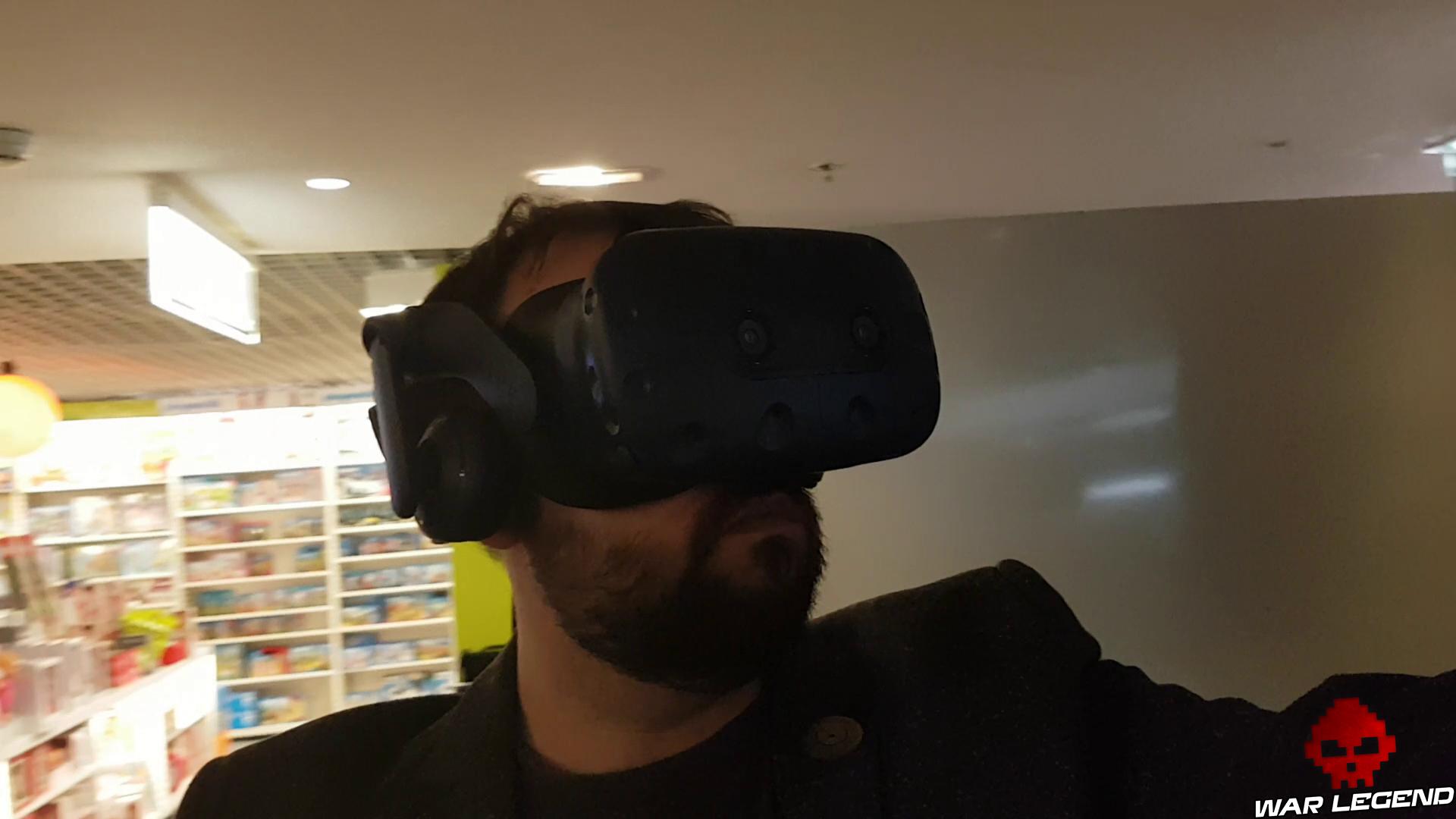 Le Vive Pro sur la tête