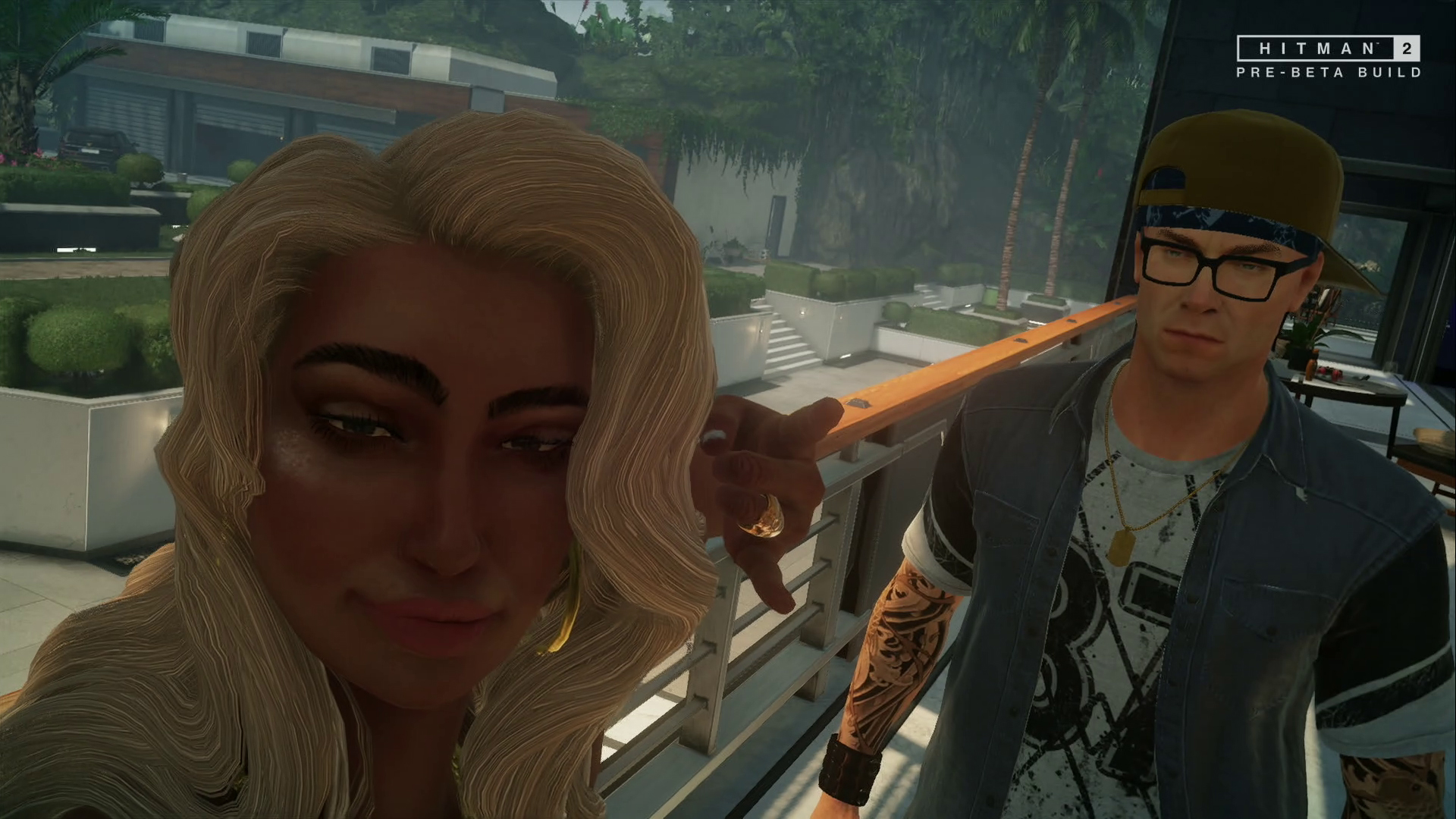 Aperçu Hitman 2 Selfie avec Maria Delgado