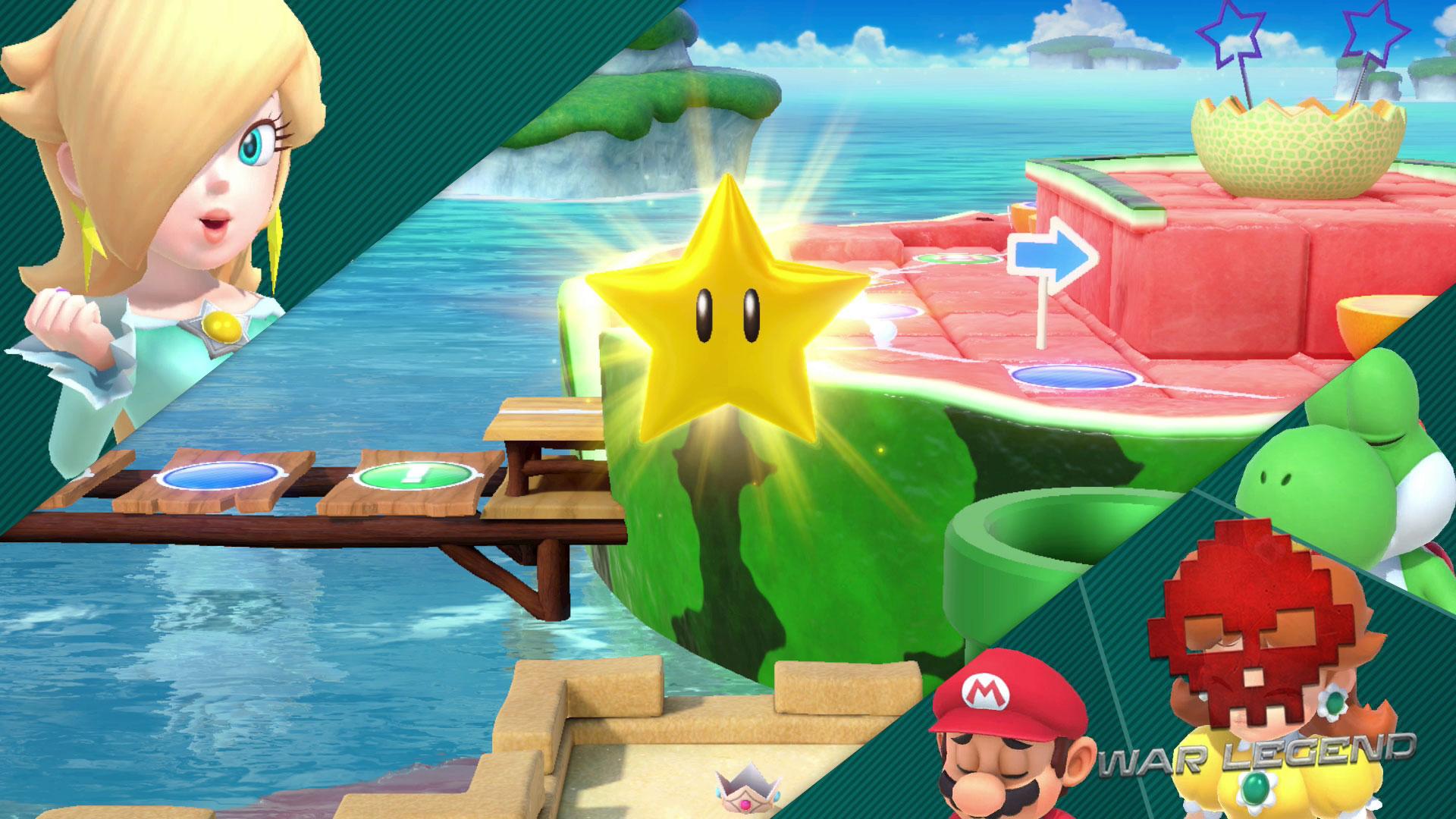 Test Super Mario Party Une étoile gagnée