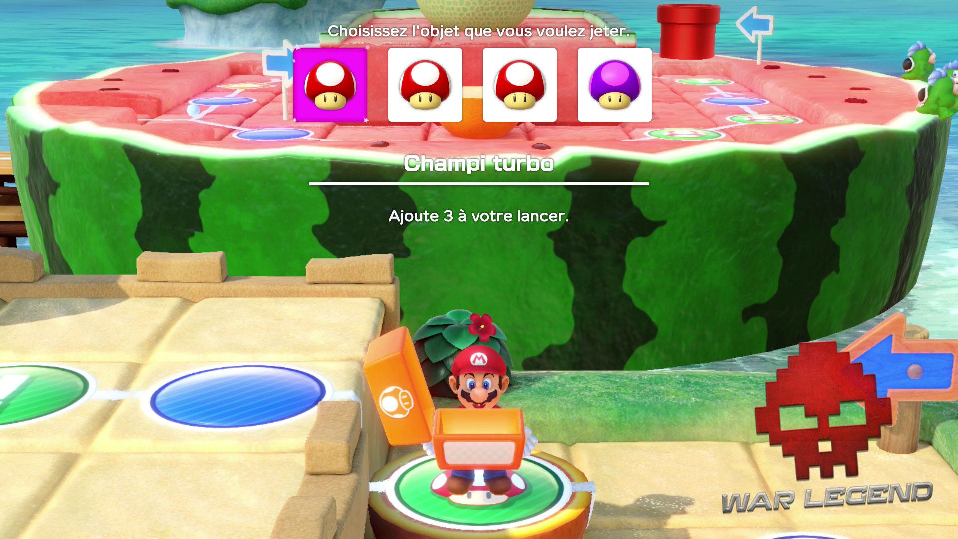 Test Super Mario Party Des objets utilisables