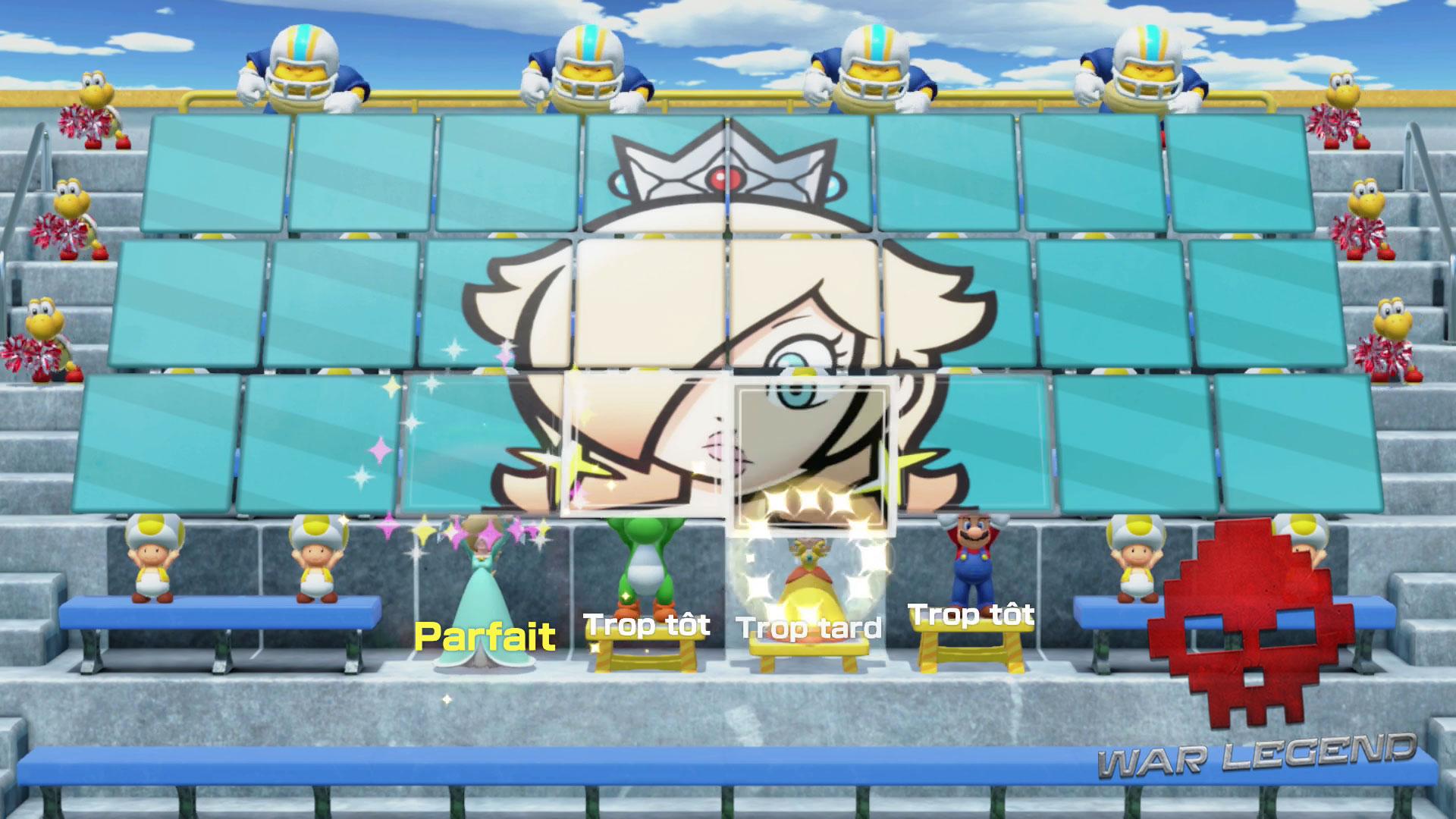 Test Super Mario Party exemple de jeu de rythme