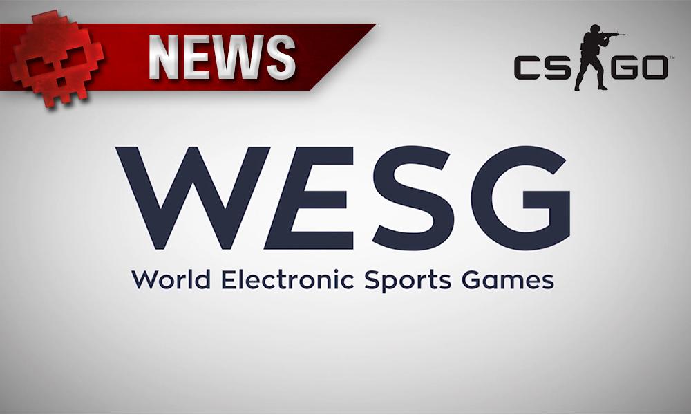 CS: GO - Dates des finales WESG annoncées