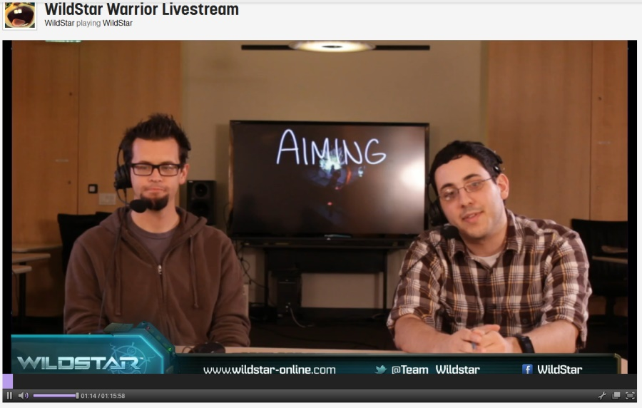 Wildstar Livestream Warrior