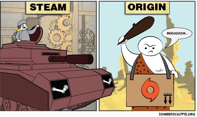 steam vs origin